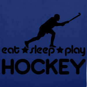 Eat Sleep Play Hockey Hoodies & Sweatshirts - Tote Bag