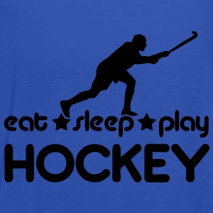 Eat Sleep Play Hockey Hoodies & Sweatshirts - Women's Tank Top by Bella