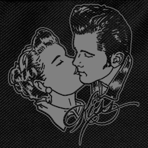 kissin rockabilly couple T-Shirts - Kids' Backpack