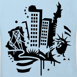 A New York City Design   in graffiti style Baby Bodysuits - Kids' Organic T-shirt