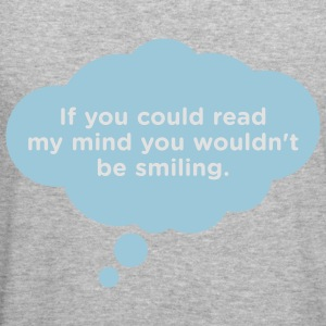 If You Could Read My Mind 1 (2c)++ Sweatshirts - Tee shirt près du corps Homme