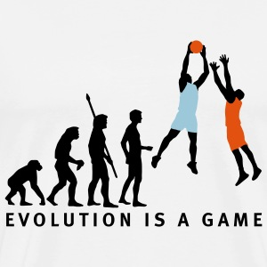 evolution_basketball_072011_c_3c Kookschorten - Mannen Premium T-shirt