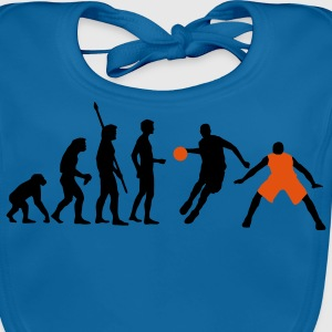 evolution_basketball_072011_h_2c Shirts - Bio-slabbetje voor baby's