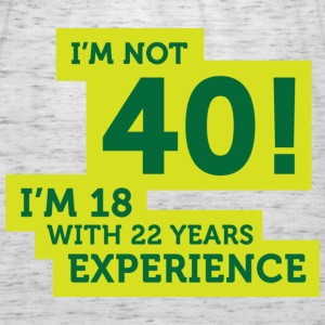 Im Not 40 Im 18 With 22 Years Of Experience (DD)++ Pullover - Top da donna della marca Bella