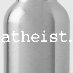 atheist classic tee - Water Bottle