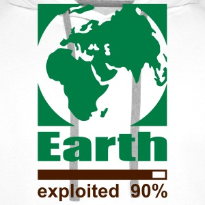 Earth exploited Women's T-Shirt - Men's Premium Hoodie