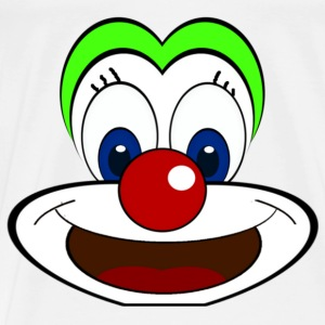clown Skjorter - Premium T-skjorte for menn