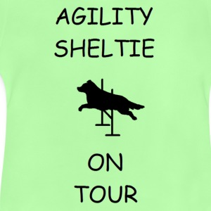 Agility Sheltie On Tour Taschen - Baby T-Shirt
