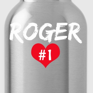 Roger No 1 T-Shirts - Trinkflasche
