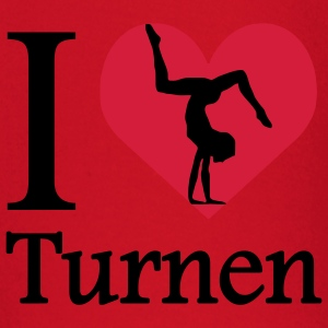 I love Turnen / I heart Turnen T-Shirts - Baby Langarmshirt