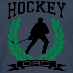 'Hockey Dad' Tee shirt classique homme - T-shirt manches longues Premium Homme