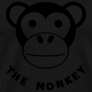 Sac the monkey - T-shirt Premium Homme