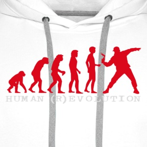 human (r)evolution - Men's Premium Hoodie