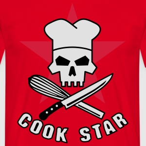 cook_star_2 Tabliers - T-shirt Homme