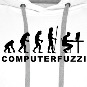 evolution_computerfuzzi T-Shirts - Männer Premium Hoodie