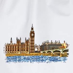 houses of parliament Tee shirts - Sac de sport léger