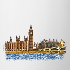 houses of parliament T-shirts - Kop/krus