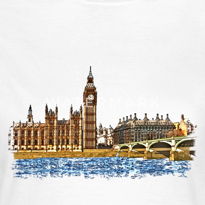 houses of parliament T-Shirts - Women's T-Shirt