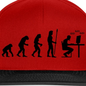 evolution_pc_gamer1 T-shirts - Casquette snapback