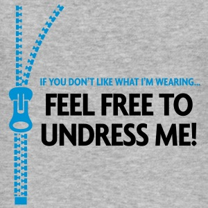 Free To Undress Me 2 (2c)++ Gensere - Slim Fit T-skjorte for menn