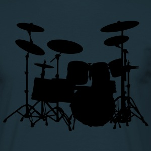 Drum Set - Männer T-Shirt