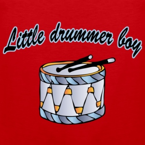 little drummer boy Barn-T-shirts - Premiumtanktopp herr