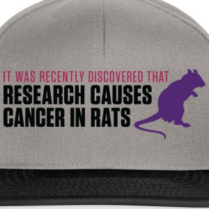 Research Causes Cancer 2 (dd)++ Sudadera - Gorra Snapback