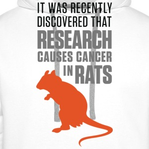 Research Causes Cancer 1 (dd)++ T-shirts - Premiumluvtröja herr