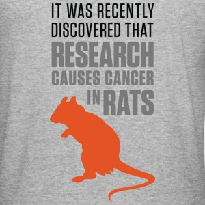 Research Causes Cancer 1 (dd)++ Sweatshirts - Tee shirt près du corps Homme