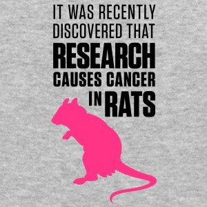 Research Causes Cancer 1 (2c)++ Sweatshirts - Herre Slim Fit T-Shirt