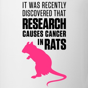 Research Causes Cancer 1 (2c)++ Bags  - Mug