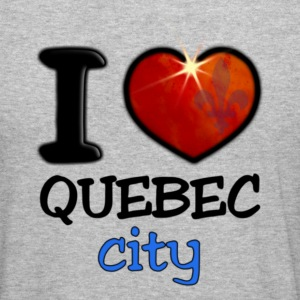 I Love Quebec City - Tee shirt près du corps Homme