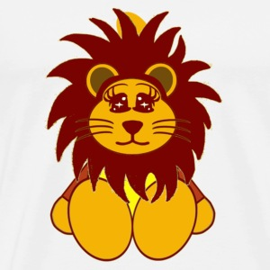 lion Badges - T-shirt Premium Homme