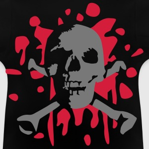 skull_and_blood_072011_a_2c T-shirts - Baby-T-shirt
