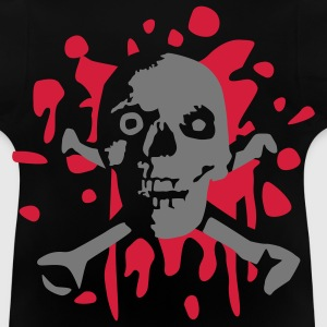 skull_and_blood_072011_c_2c T-shirts - Baby-T-shirt