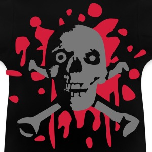 skull_and_blood_072011_c_2c Shirts - Baby T-shirt