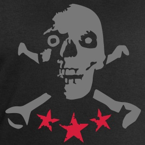skull_and_stars_072011_b_2c T-Shirts - Men's Sweatshirt by Stanley & Stella