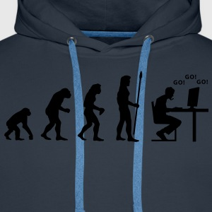evolution_pc_gamer1 T-shirts - Premiumluvtröja herr