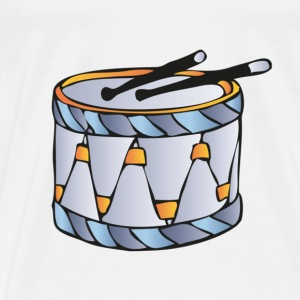 drums drawing Baby Shirts  - Men's Premium T-Shirt