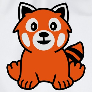 Red Panda Bear Underwear - Drawstring Bag