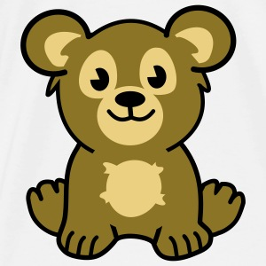 cute bear Bags  - Men's Premium T-Shirt