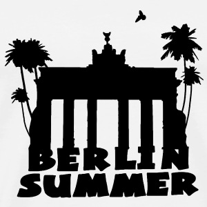 berlin summer Bags  - Men's Premium T-Shirt