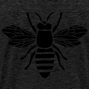 bee hoody t-shirt i love honey bumble bee honeycomb beekeeper wasp sting busy insect wings wildlife animal - Men's Premium T-Shirt