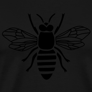 bee apron t-shirt i love honey bumble bee honeycomb beekeeper wasp sting busy insect wings wildlife animal - Men's Premium T-Shirt