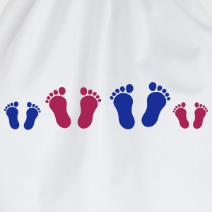 footprint_family_2c Kinder shirts - Gymtas