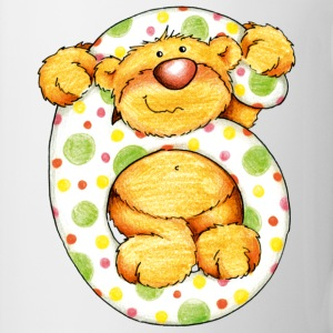Sweet little bear and the 6 T-shirts - Mok