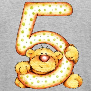 Sweet little bear and the 5 Tröjor - Slim Fit T-shirt herr