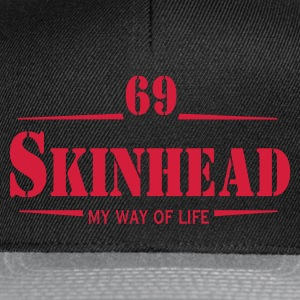 Working Class Skinhead Oi! Antiracist Bootboys My Way of life Tee shirts - Casquette snapback