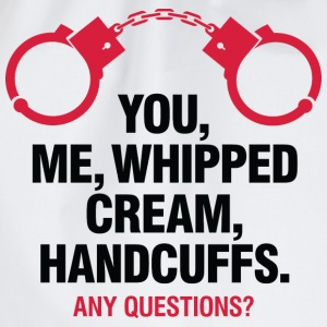 Whipped Cream And Handcuffs 2 (dd)++ T-shirt - Sacca sportiva