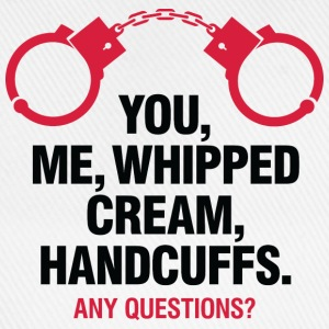 Whipped Cream And Handcuffs 2 (dd)++ T-shirts - Basebollkeps